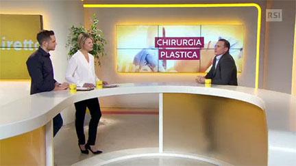 Il Dr. Matteo Malacco, specialista FMH in chirurgia plastica, ricostruttiva ed estetica, a Filo diretto su RSI Radiotelevisione svizzera.