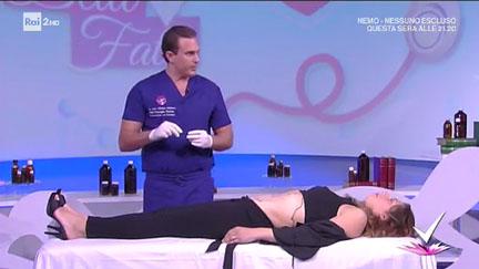 Abdominoplasty explained by Dr. Matteo Malacco - Rai 2 TV, Detto Fatto, 30/03/17