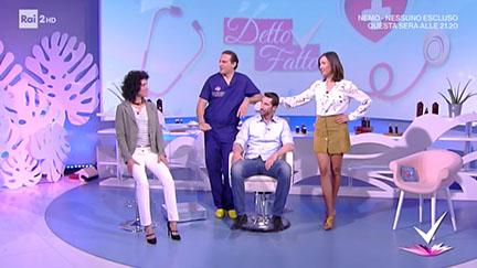 Il Dr. Matteo Malacco, chirurgo plastico, ricostruttivo ed estetico, parla di rinoplastica - Rai 2, Detto Fatto, 27/04/17